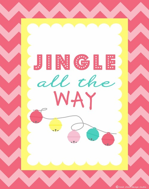 FREE Holiday Printable Poster