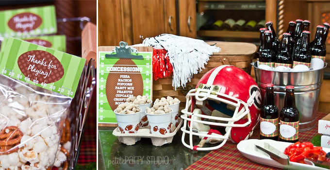 Tailgating Football Party Ideas {Part 2}