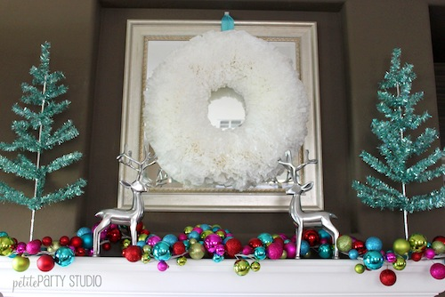 Coffee Filter Wreath {DIY Holiday Decor}