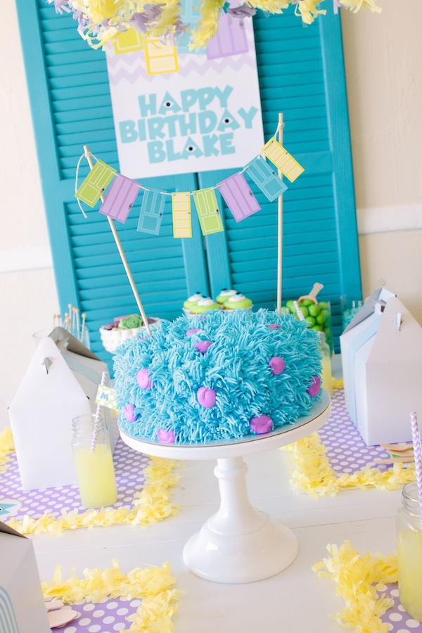 Monsters Inc Inspired Party