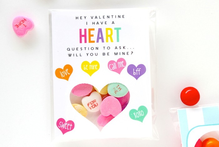 Conversation Heart Printable by Petite Party Studio