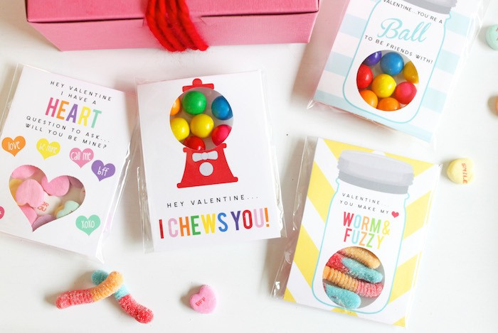 DIY Teacher Valentines by Petite Party Studio