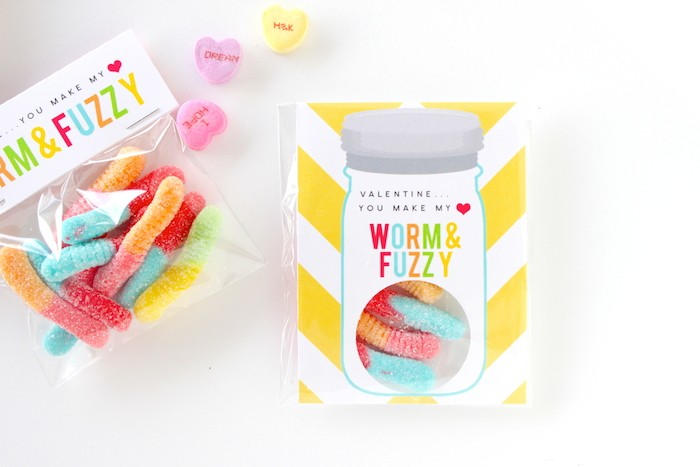 DIY Class Valentines by Petite Party Studio