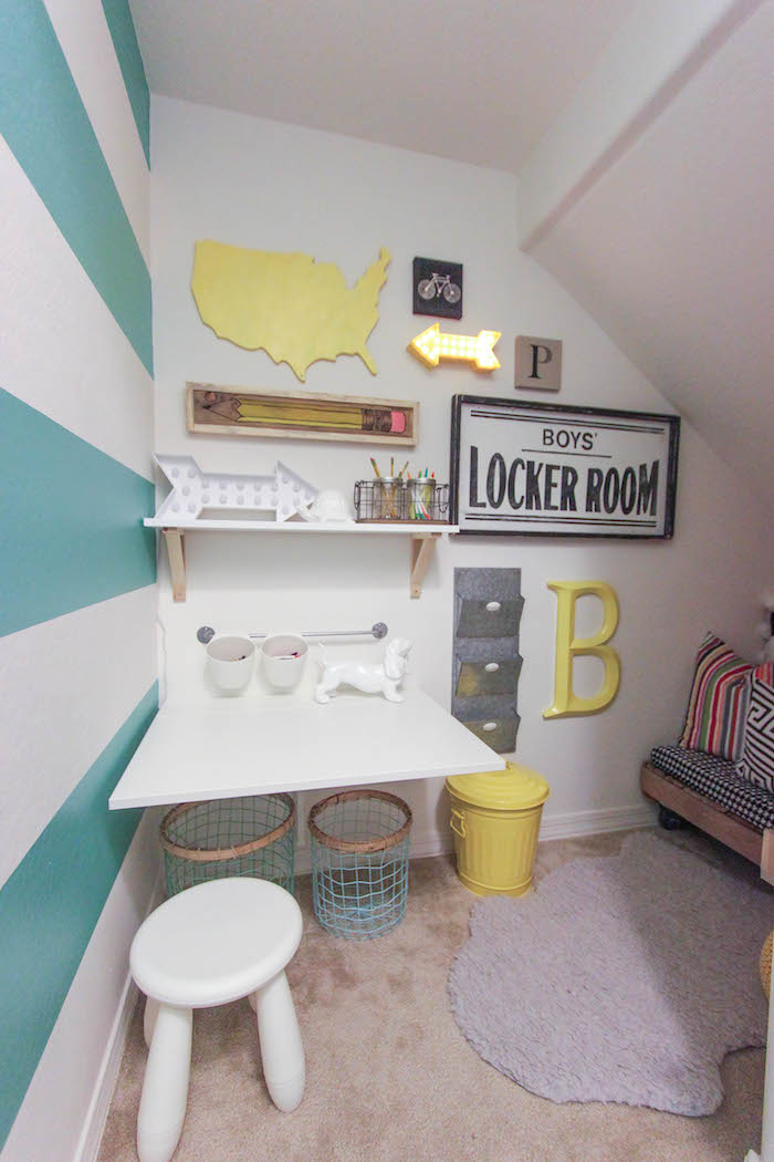 Under Stairs Playroom Idea for Kids