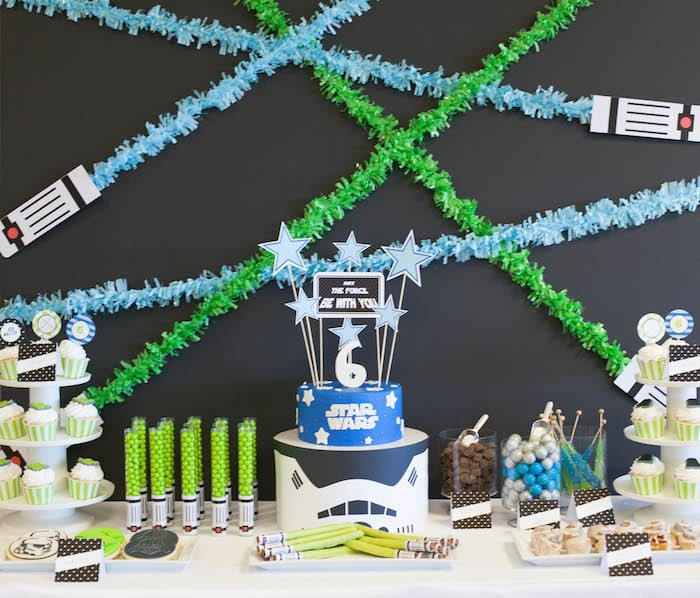 May The Fourth Be With You Treats: Star Wars Birthday Party