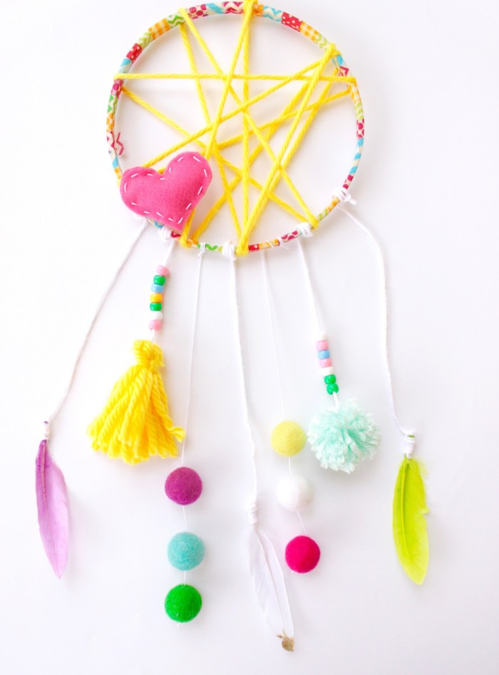 kids crafts dream catchers