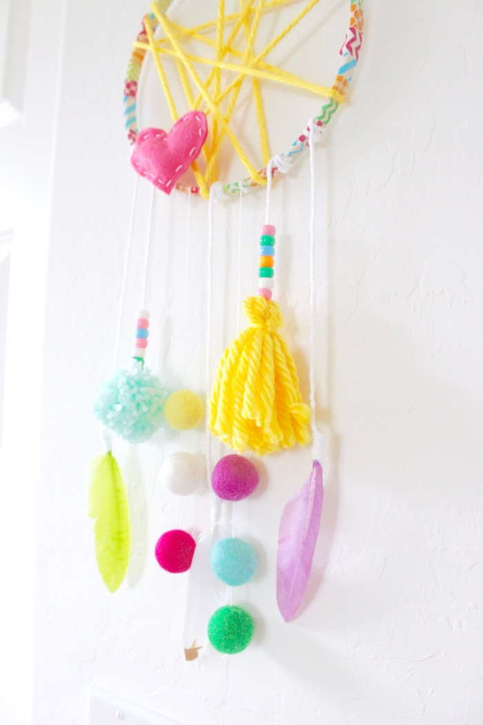 Kids Craft Dream Catcher