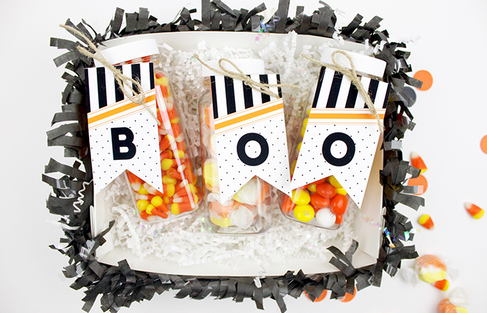Halloween Boo Basket and Printables