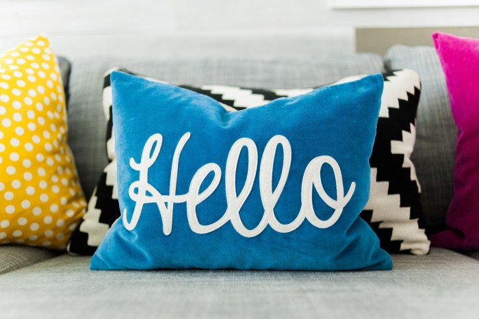 http://www.landofnod.com/blue-hello-throw-pillow/s145850