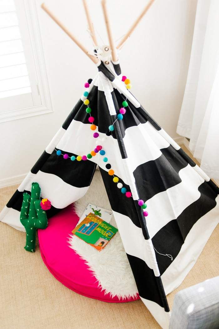 kids playroom teepee petite party studio
