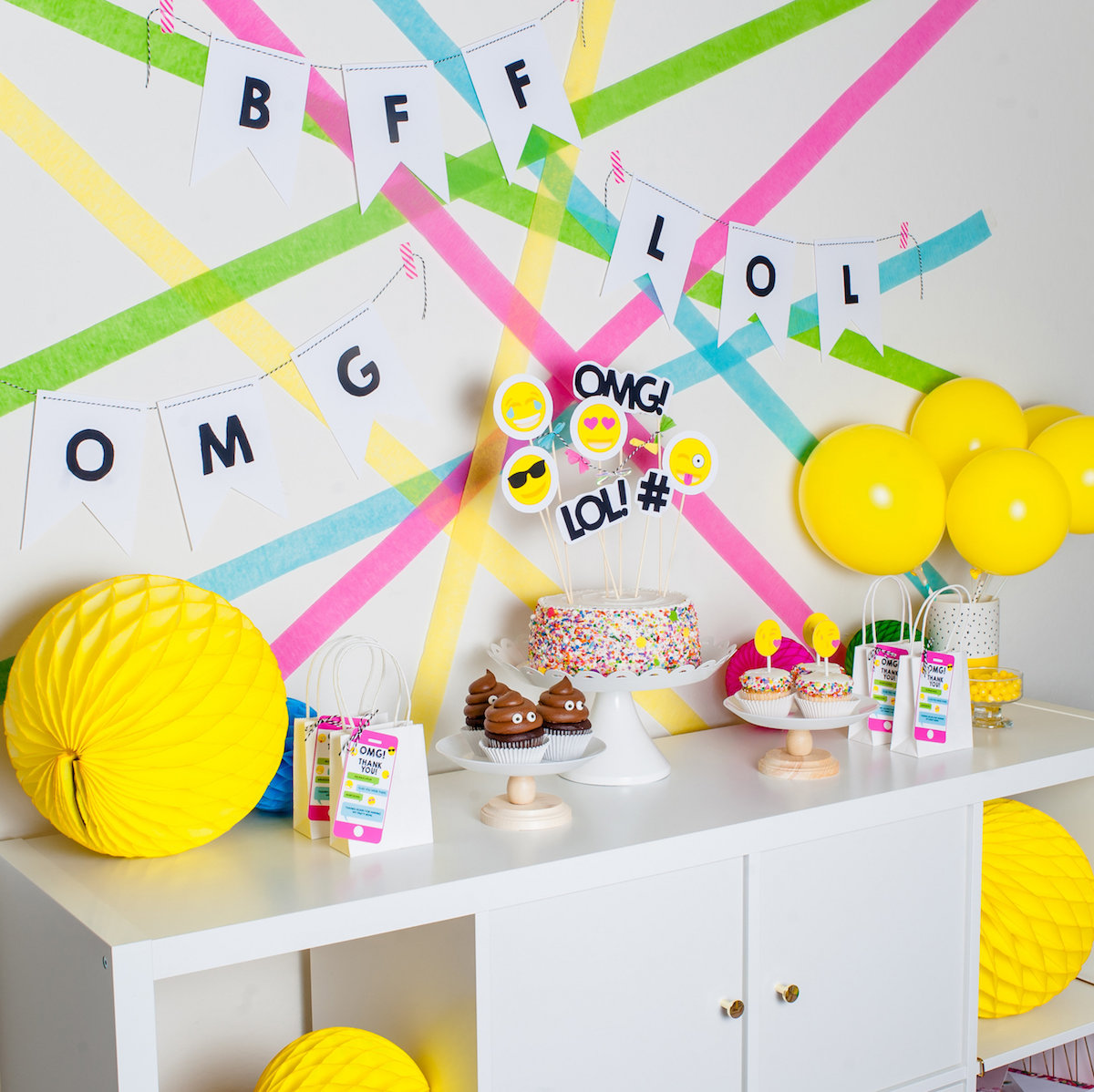 Feeling Inspired To Throw Your Very Own Emoji Party Id Love See What You Dream Up Looking For More DIY Ideas Check Out This Link HERE