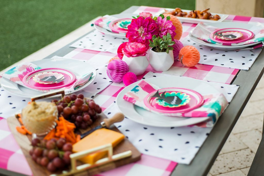 Backyard BBQ Girls Night In with Spoonflower