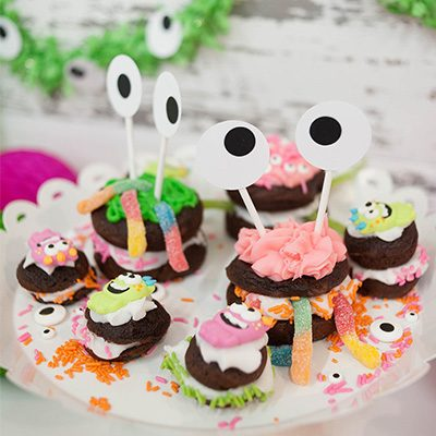DIY Monster Whoopie Pies