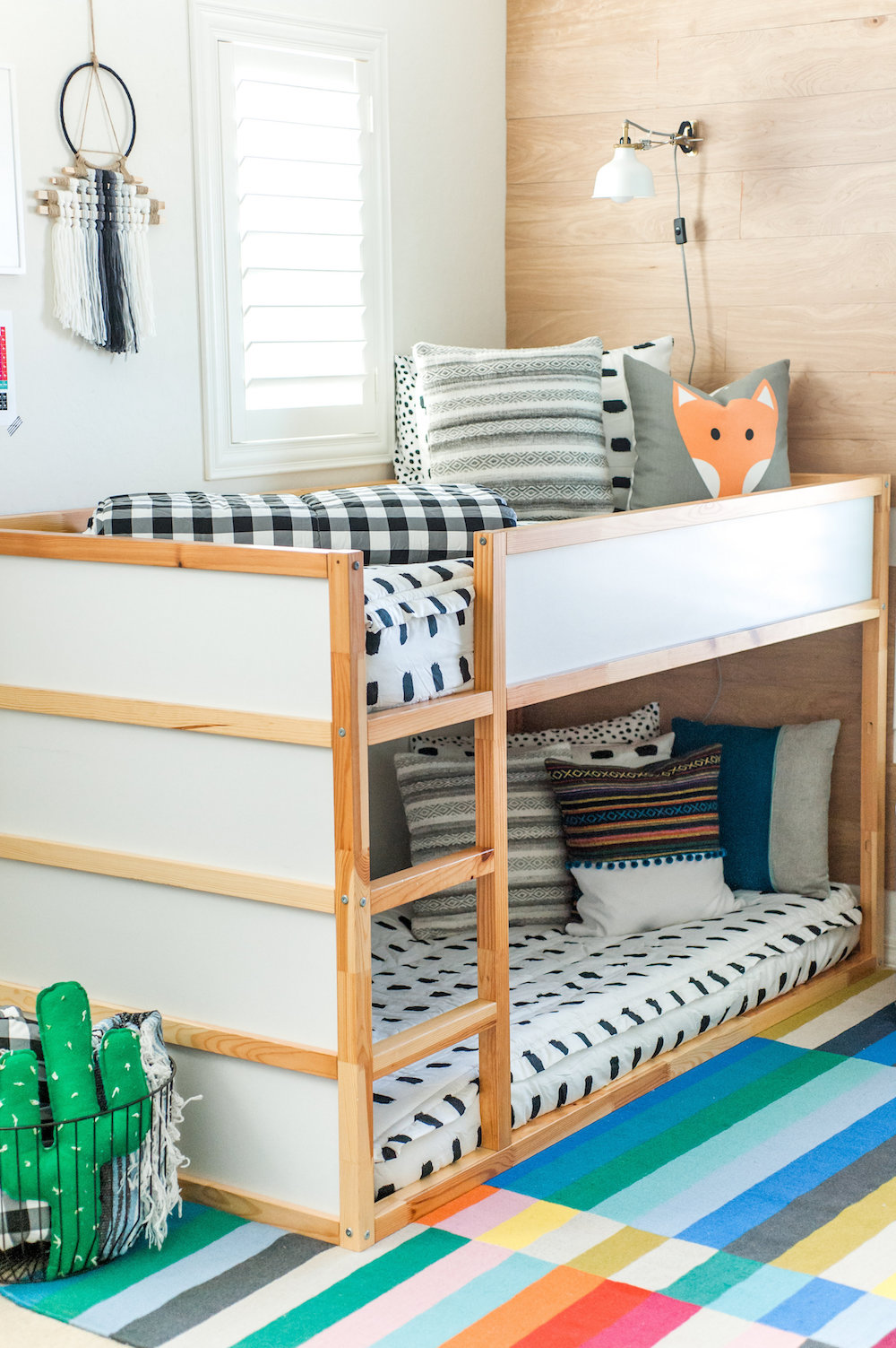 Modern Colorful Boys Room Reveal with Beddys 29