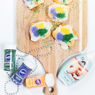 Mardi Gras | Kings Cake and DIY Decor