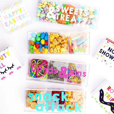 DIY Candy Bento Boxes with the Cricut Explore Air 2