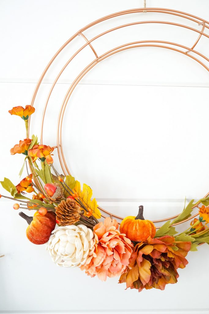 DIY Fall Wreath 10
