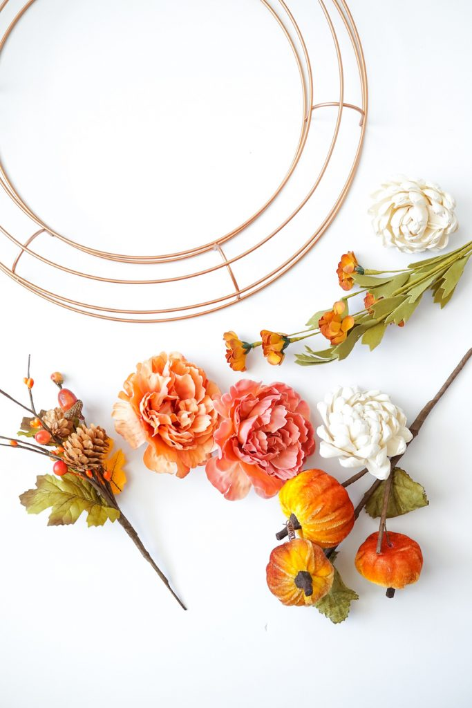 DIY Fall Wreath 3