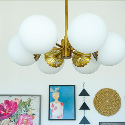 Dining Room Makeover with Mitzi Lighting