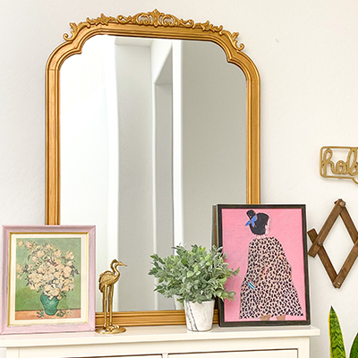 DIY Anthro Mirror DUPE