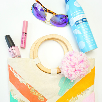 DIY Summer Tote with Tangi